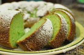 It s Easy Being Green Pistachio Bundt Cake Awesome with Sprinkles