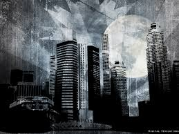 Big City Prev Free Abstract Wallpaper Widescreen Revolutions Grunge Digital