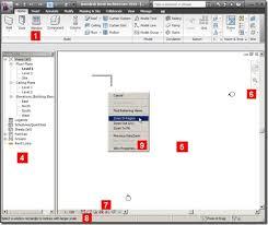 Revit Architecture User Interface