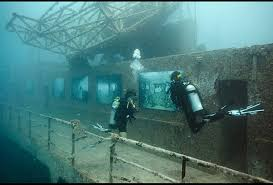 Uss America Sinking Photos by Divers Explore Andreas Franke U0027s Exhibition