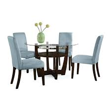 Dining Room Chair Set Of 4 Chairs Piece Kitchen Table Black Covers