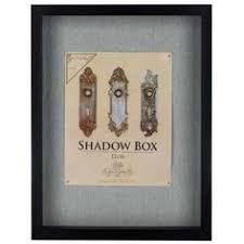 X Black Front Loading Shadow Box