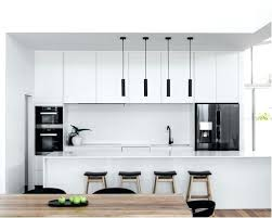 White Kitchen Cabinets Black Appliances Off Colors With
