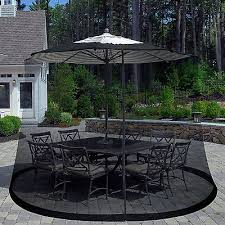 1 Of 10FREE Shipping Outdoor Umbrella Table Screen Outdoors Patio Mosquitoes Bug Enclosure 11 Foot