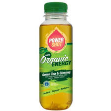Energy Drink Brands Ginseng Organic Green Tea Shot