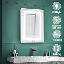spiegelschränke qucover spiegelschrank bad mit led
