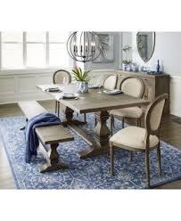 MacyS Dining Room Furniture Tristan Trestle Table Created For Macys