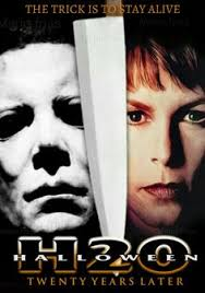 Halloween H20 Cast Members by Laurie Strode Keri Tate
