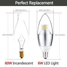 60 watt chandelier light bulbs led candelabra bulb daylight