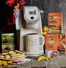 National Coffee Day Giveaway PRIZE Keurig K250 Sandy Pearl