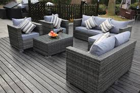 8 Seater Grey New Rattan Garden Furniture Sofa Set | Furniture Maxi Shop Aleko Wicker Patio Rattan Outdoor Garden Fniture Set Of 3 Pcs 4pc Sofa Conservatory Sunnydaze Tramore 4piece Gray Best Rattan Garden Fniture And Where To Buy It The Telegraph Akando Outdoor Table Chair Hog Giantex Chat Seat Loveseat Table Chairs Costway 4 Pc Lawn Weston Modern Beige Upholstered Grey Lounge Chair Riverdale 2 Bistro With High Webetop Setoutdoor Milano 4pc Setting Coffee