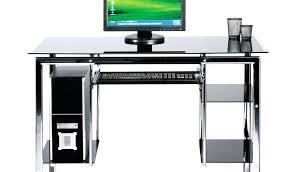 bureau ordinateur en verre bureau en verre conforama by sizehandphone tablet desktop