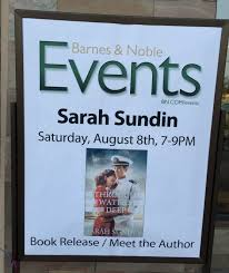 How author Sarah Sundin threw a fun book launch party with little