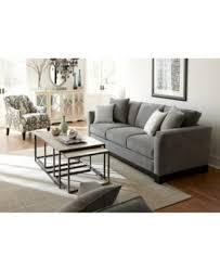kenton fabric sofa created for macys furniture macys pertaining to