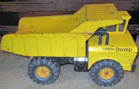 VTG MIGHTY TONKA DUMP TRUCK YELLOW LARGE 19