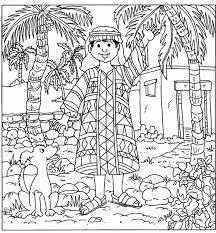 Joseph Coat Coloring Page 6 533x575