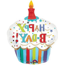 Birthday Cupcake Clip Art