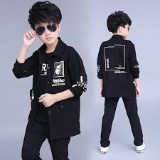 Clothes Boys 2017 Baby Hoodied Coats And Jackets Pants Sets Korean Fashion Clothing Sports