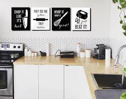 Kitchen Decor And Design On Wall Kitchen Prints Quote Choose Your Design