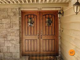 Home Door Rustic 64x80 Jeld Wen Estate Collection A1322 Fiberglass Double Entry Mission Style Exterior