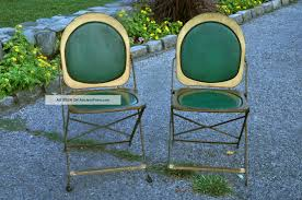 2 Vintage Art Deco Metal Folding Chairs Btc Hostess Brewer Titchener ... Metal Folding Chairs Walmart Interiordedircom Antique Grey Vintage Garden Bistro Table And 2 Homegenies White Chippy Paint Ding Chair Heirloom Home Sustainable Slow Stylish A Plywood Scaramangas Industrial Fniture Scaramanga Louis Rastter Kumfort Brown Sold Pair Of Etsy One Hospital Foldable Peak Event Services Black Wood Wedding Slatted Shop Osp Furnishings Bristow Steel Finis