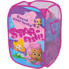 Bubble Guppies Bathroom Decor by Nickelodeon Bubble Guppies Hamper Walmart Com