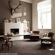 hirschgeweih deko wohnzimmer planen wohnzimmermöbel ideen