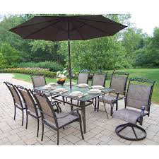 8 10 Person Patio Table by Patio Dining Sets For 8 Trend Pixelmari Com