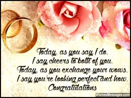 Wedding Card Quotes And Wishes Congratulations Messages For Marriage