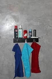 badablage wc spiegel ablage loft industrie bauhaus design