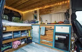 Camper Van Interior Vanalog Vibes