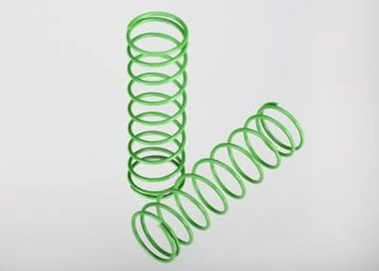 Traxxas Telluride 4x4 Front Springs - Green, 1 Pair