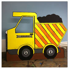 This Dump Truck Cutout Is Great For Any Construction Theme Party ...
