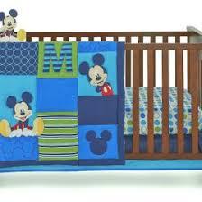 crown crafts bedding sets disney baby infant boy s 4 piece mickey