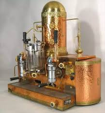 Vintage Copper And Brass Gaggia Orione 1G U Some Lucky Bidder Got This One For USD 420 But Antique Machines Can Go Upwards Of 5000