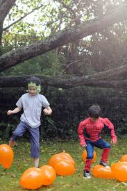 Happs Pumpkin Patch by Halloween Party Games For Kids The Idea Room