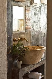 Rustic Bathroom French Country