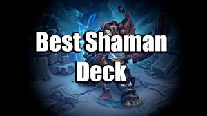 evolve token shaman tier 1 deck tech gaara hearthstone