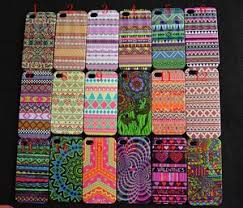 Aztec Tribe Retro Vintage Tribal Hard Cover Case for iPhone 4 4G