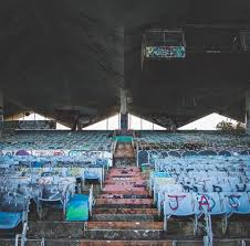 Gander Mountain Stadium Chairs by Abandoned Abandoned Stadium Abandoned Stadiums Pinterest