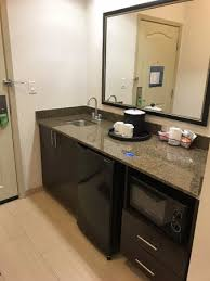Hampton Inn Suites Houston League City Counter Area With Sink Coffee Maker