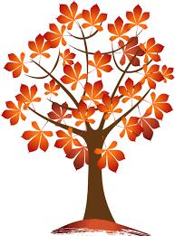 Autumn Tree Clip Art 23