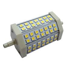 j118 10w led bulb 48 leds floodlight pir security light