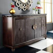 Bob Mackie Furniture Dining Room by American Drew Bob Mackie Home Collection Credenza With Granite Top
