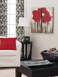 Black And Red Living Room Decorating Ideas by Red Black White Living Room Ideas Black U0026 White And Red