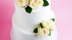 White Frosted Wedding Cake Tutorial Rosies Dessert Spot