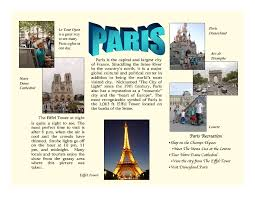 Travel Brochures Lessons Tes Teach Examples Of For Traveling