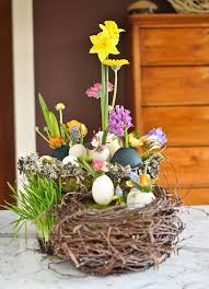 16 Easter Centerpieces With Egg Shell Cheap Spring