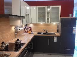 elementa musterküche moderne küche 2 farbig