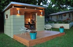 Backyard fices 8 Modern Prefab Sheds